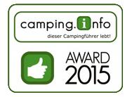 CAMPING-AWARD 2014
